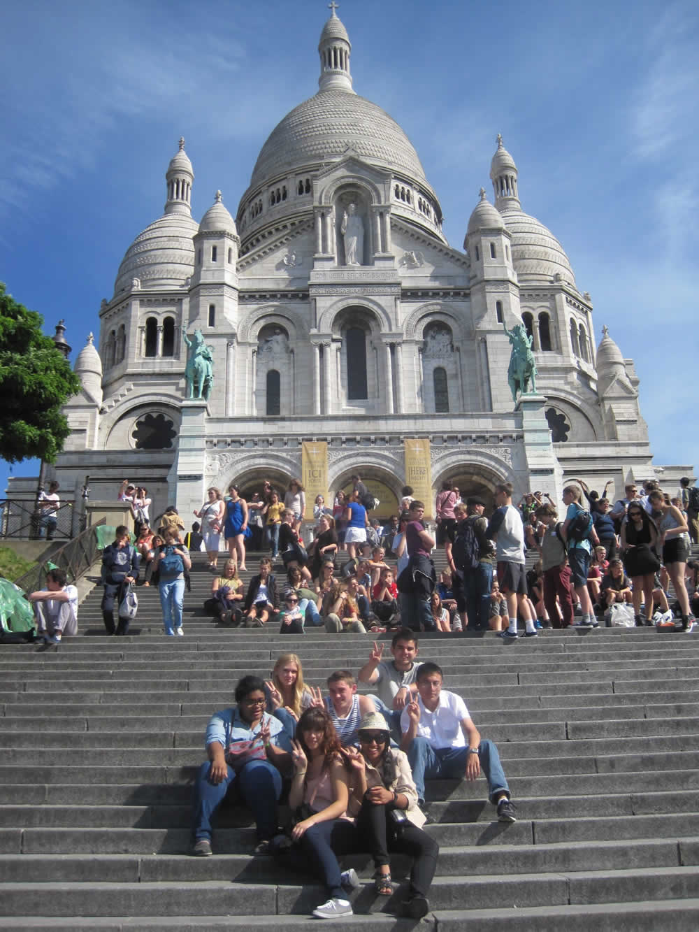 Outreach Travels Sacre Coeur Basilica