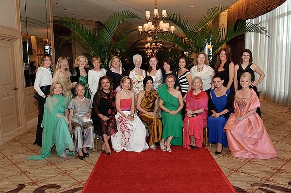 On May 10, 2014 Red Carpet at the Monte Carlo Casino was held at the Ritz Carlton Hotel. Chairmen Lisa Bailey and Véronique Bushala organized the event to honor Betsey Pinkert.