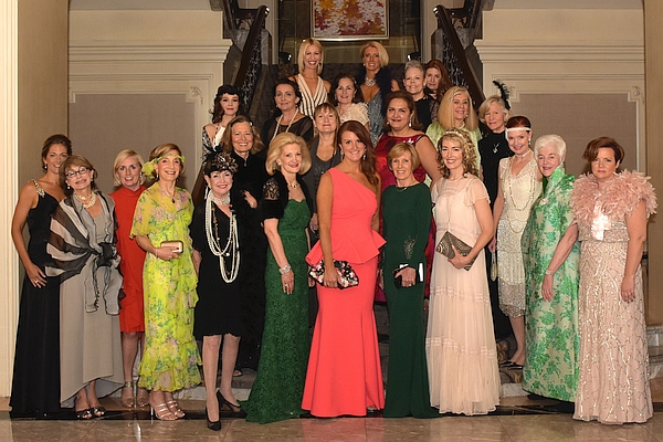 On May 14, 2016 Les Années Folles was held at the Four Seasons Hotel. Chairman Kristina Schneider and Co-Chairman Laurie Pasquier organized the event to honor Annie Ergas.